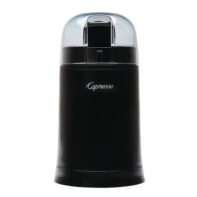 Capresso 505.05 Cool Grind Coffee And Spice Grinder, Stainless Finish back-426290