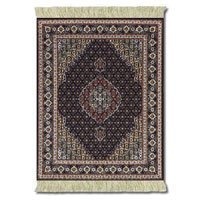 Lextra Midnight Persian MouseRug, 10.25 x 7.125 Inches, Dark Navy and Cream, One (CMP-1)