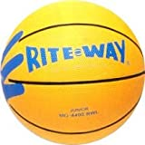 Anaconda Sports® The Rock® MG-4400RW Rite Way Instructional Two Color Junior Size Basketball