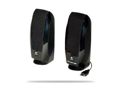 Logitech S-150 Speaker Enjoy Rich Digital Usb Sound Edgy Design & Convenient Volume Controls