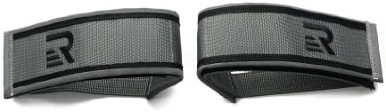Retrospec Bicycles Fixed-Gear Track BMX-Style Foot Retention FGFS Velcro Straps with Reflective Fabr