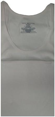 Calvin Klein Men's Classic Rib Tanks, Medium, White, (Pack of 3)
