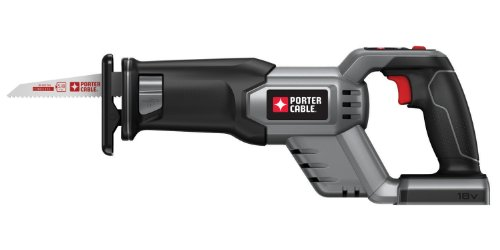 Bare-Tool PORTER-CABLE PC18RS 18-Volt Cordless Reciprocating Saw (Tool Only, No Battery)