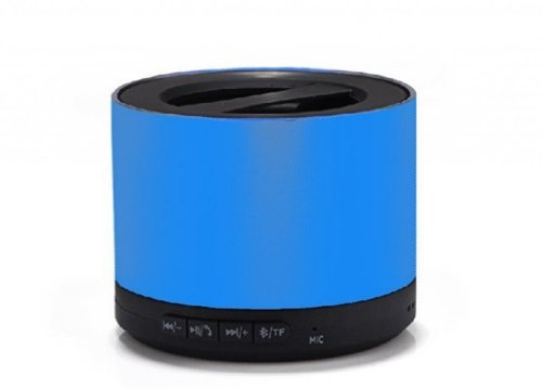 Blue Melody Best Potable Mini Top Rated Stereo Travel Wireless Bluetooth Speaker For Apple Iphone Ipad Ipod Samsung Motorola Philips Laptop Sd Card Bl-N9 Blue