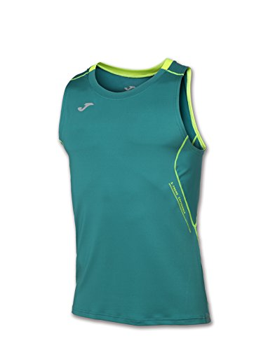 JOMA OLIMPIA FLASH SLEEVELESS SHIRT GREEN XXL