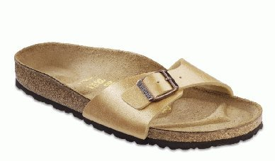 "Cheap Birkenstock Sandals ""Madrid"" Birko-Flor In Graceful Spring Green With A Regular Insole (B004YHKCT4)"