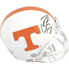 Peyton Manning Autographed Hand Signed Tennessee Vols Full Size Replica Helmet (front...