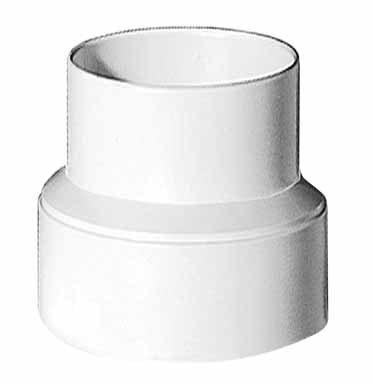 Lambro #235 4X3 Plastic Vent Adapter front-461285