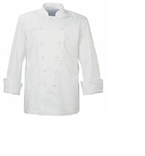 Chaqueta-de-cocinero-color-blanco-con-blanco-botones-de-presin-Catering-Uniforme-restaurante-ins04-Blanco-XL