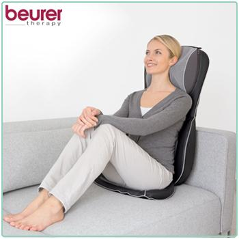 beurer mg 295 shiatsu sitzauflage massage nacken r ckenmassage black r10 93 ebay. Black Bedroom Furniture Sets. Home Design Ideas