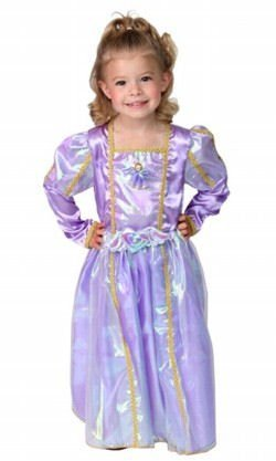 Child Renaissance Princess Dress Up in Beautiful Lavender