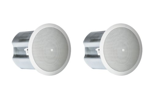 "Jbl Two-Way 6.5"" Coaxial Ceiling Loudspeaker Control 16C/T (White)"