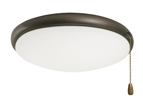Emerson LK65ORB Moon Light Fixture, Two 60-Watt Candelabra Bulbs, 10-Inch Wide, 3.75-Inch High, Oil Rubbed Bronze