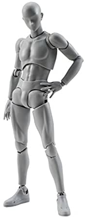 S.H.フィギュアーツ ボディくん DX SET(Gray Color Ver.) 約150mm ABS&PVC製 可動フィギュア