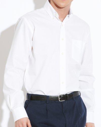Savile Row Men's White Oxford Buttondown Collar Casual Shirt Size XXX-Large