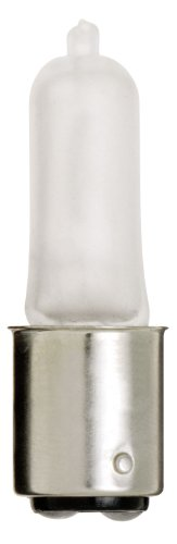 Satco S1982 120V 50-Watt T4 DC Bayonet Base Light Bulb, Frosted (Xenon Bulbs 50w compare prices)