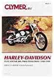 Clymer M421-3 Service Manual 1984-1999 Harley Davidson FX/FL Softail Big Twin Evolution