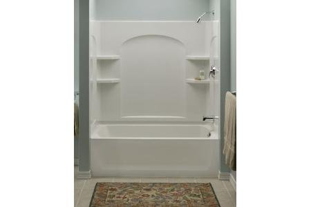 Buy Cheap Sterling 71224100-0 Ensemble Curve Bath and Shower Wall ...
