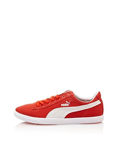 Puma Zapatillas Glyde Lite Low Rojo / Blanco