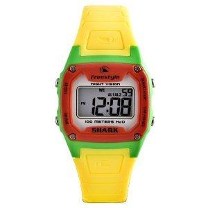 Freestyle Unisex FS80978 Shark Rasta Yellow Polyurethane Watch