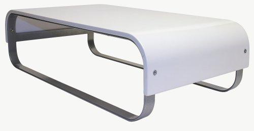 Allsop Cupertino Monitor Stand - White