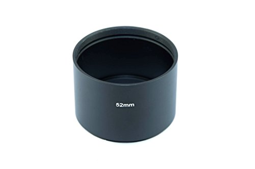 Fittest 52Mm Telephoto Metal Lens Hood With Filter Thread Mount (Lh-5239)