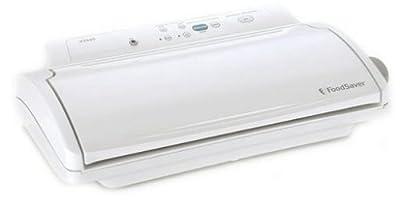 FoodSaver V2440 Advanced Design Vacuum-Packaging System, White by FoodSaver