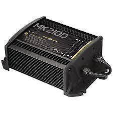 MinnKota MK 210D On-Board Battery Charger (2 Banks, 5 amps per bank) (Boat Battery Charger 3 Bank compare prices)