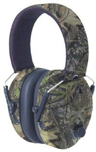 Omni, Mossy Oak New Obsession Sound Amplification/Noise Reduction High Frequency Shooting Ear Muffs with CoolMax