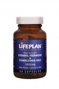 Lifeplan Evening Primrose & Starflower Oil 1000mg - 60 capsules