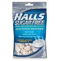 Buy Halls SF Cough Supp Drops, Mountain Menthol 25/pkX12Pks
