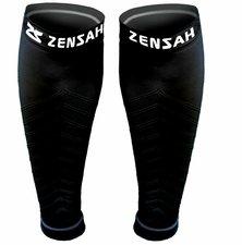 Zensah leg sleeve black extra small/small