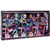 Monster High Dance Class 5 Pack - Rochelle Goyle, Gil Webber, Robecca Steam, Lagoona Blue, and Operetta (Monster High Doll Robecca Steam compare prices)