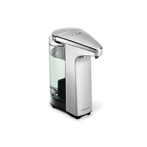 simplehuman 8 oz. Sensor Pump with Soap Sample, Brushed Nickel (Touchless Sensor Pump compare prices)
