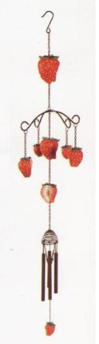 Strawberry 33 Wind Chime