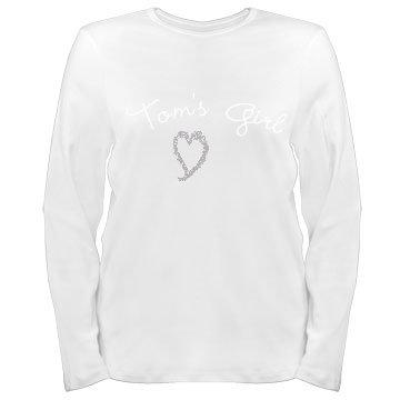 Tom's Girl: Custom Plus Size Long Sleeve T-Shirt
