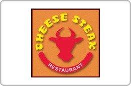 Cheese Steak Restaurant Gift Certficiate ($10)
