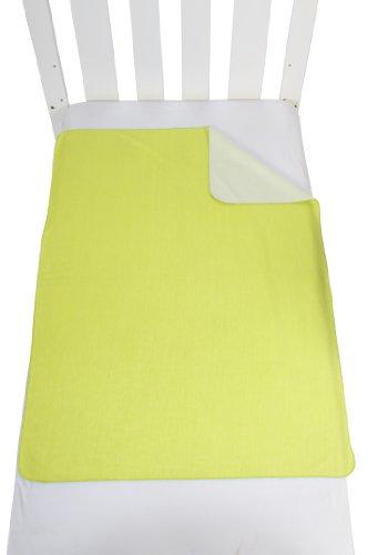 Hippychick Tencel Flat Sheet Cot (Lime, 50 X 75 Cm) front-466423