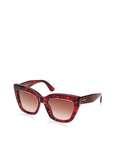 VALENTINO Gafas de Sol V710S 51 (51 mm) Rojo Oscuro