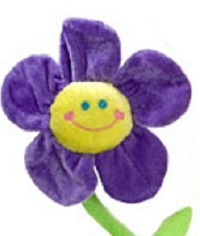"20"" Plush Flowers with Bendable Stems - Choice of Color - 1/ea. (Purple) - 1"