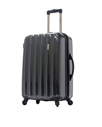 Olympia Luggage Titan 21 Inch Expandable Carry-On Hardside Spinner, Black