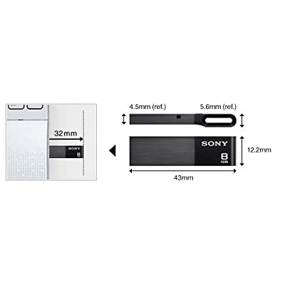 Sony Micro Vault Metal 16GB Pendrive USM16W