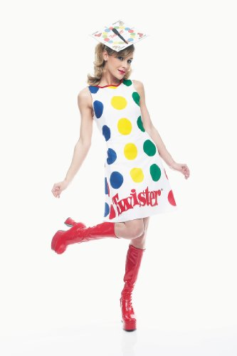 Paper Magic Women's Twister Dress And Hat,Twister - Size 12 to 14