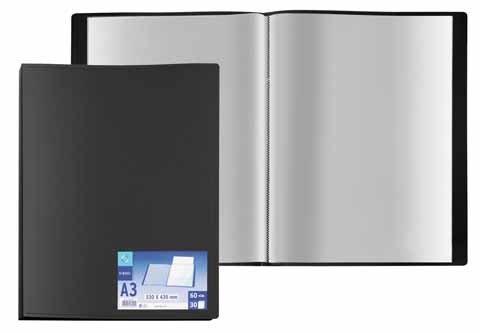 Veloflex viquel v546005 cartella con 30 buste 60 fogli for Porte vue 60 pochettes