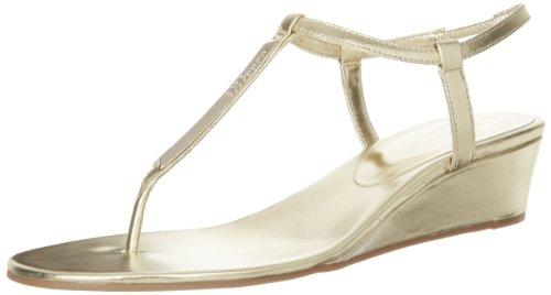 Bcbgeneration Women'S Jiffie Thong Sandal,Gold,6 M Us