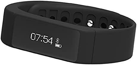 Buyee® i5 Plus OLED Smart Bracelet Bluetooth 4.0 Pedometer Tracking Calorie Health Wristband Sleep Monitor for iPhone 4S/5S/6/6 plus, iTouch5, iPad 3, Samsung Galaxy S4 (i5 plus, black)