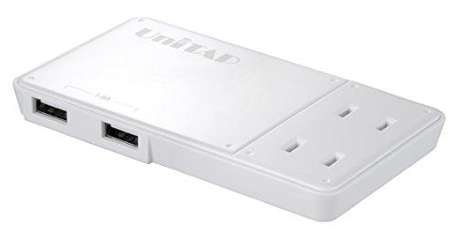 プリンストン Unitap 極薄2ポートUSB給電機能付きOAタップ PPS-UTAP3