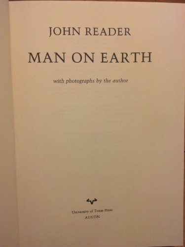 Man On Earth: John Reader: 9780002192477: Amazon.com: Books