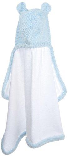 Little Giraffe Luxe Twist Towel, Blue