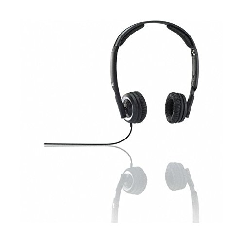 Sennheiser Px 200 Ii B Closed Mini On-Ear Headphone With Integrated Volume Control (Black)